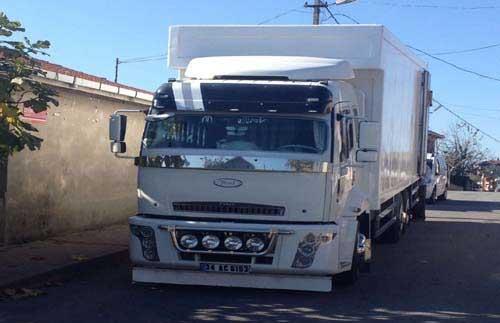 gebze nakliyat kamyonu